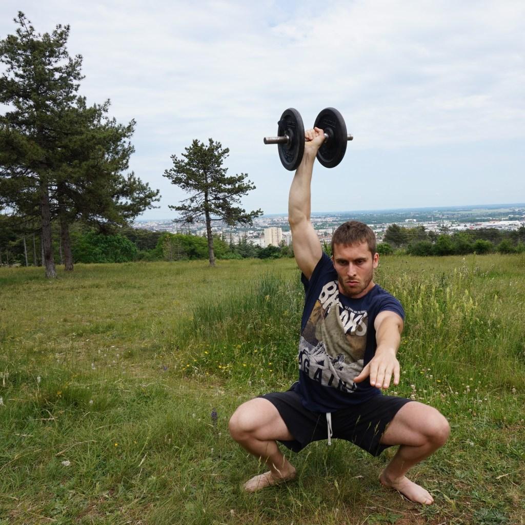 Treeninglife - chaussures bosu ball musculation overhead squat sport vegan végétarien